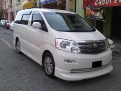 Toyota Alphard (6 Passengers)