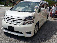 Toyota Vellfire (6 Passengers)